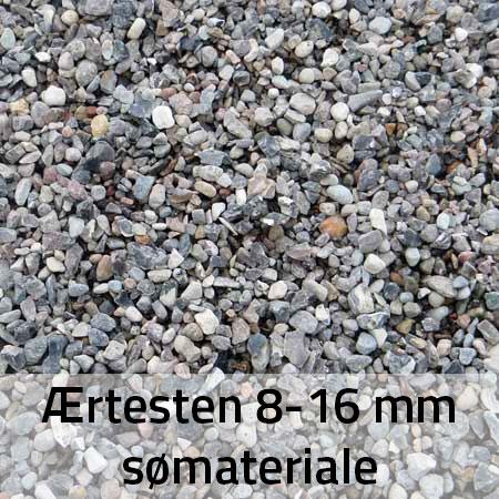 Ærtesten 8-16 mm Sømateriale
