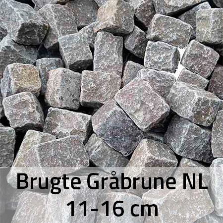 Brugte Gråbrune NL 13-15 cm