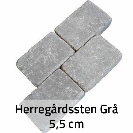 Grå Herregårdssten 5,5 cm