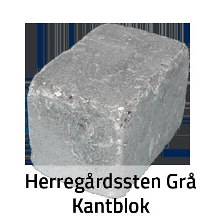 Herregårdssten Grå Kantblok