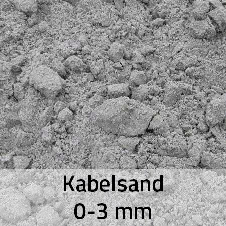 kabelsand 0-3 mm