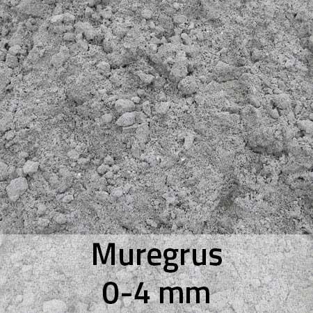 Muregrus 0-4 mm