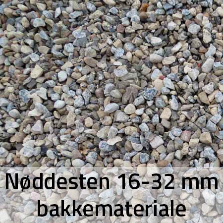Nøddesten 16-32 mm bakkemateriale