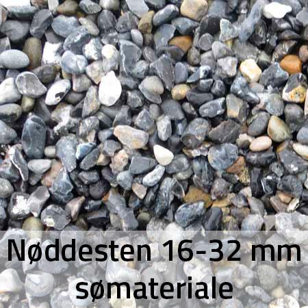 Nøddesten 16-32 mm Sømateriale