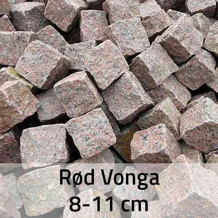 Rød Vonga 8-11 cm