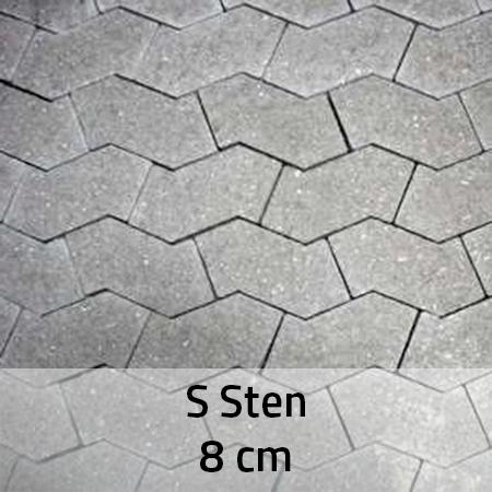 S Sten 8 cm