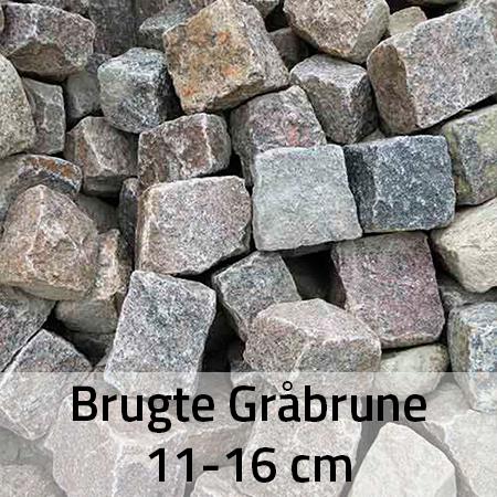 Brugte Gråbrune 11-16 cm