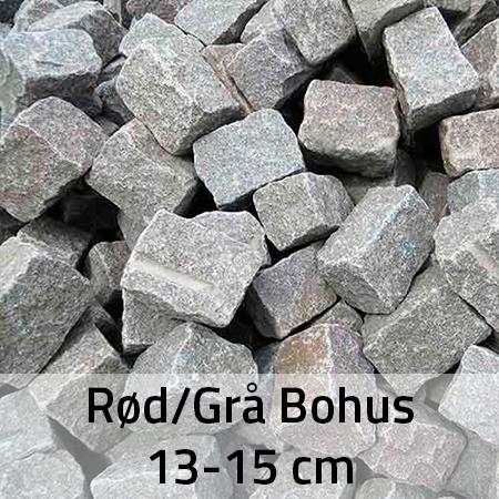 Rød/Grå Bohus 13-15 cm