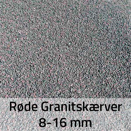 Granitskærver Røde 8-16 mm